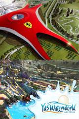Ferrari World + Yas Waterworld