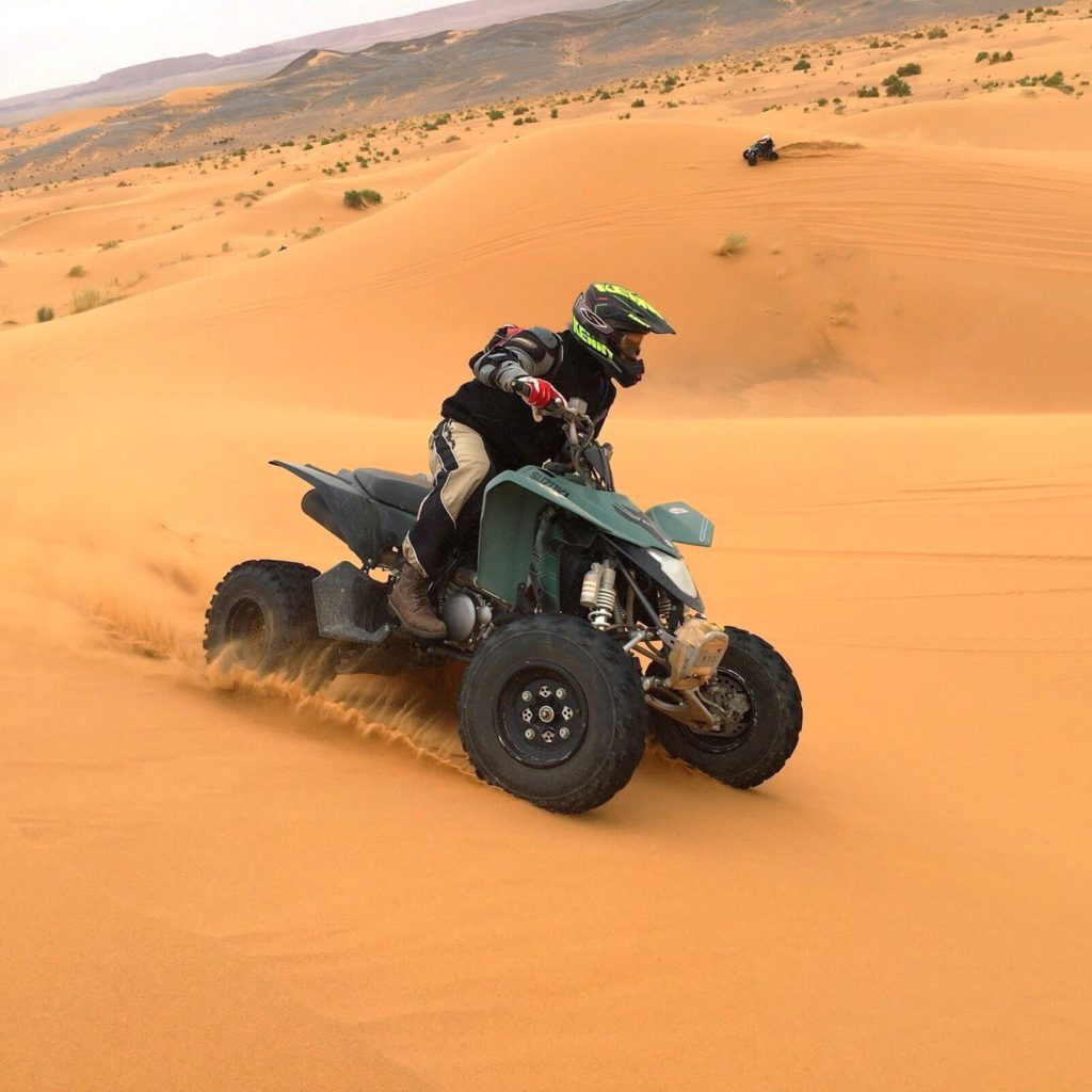 Пустынное Сафари на квадроциклах